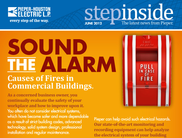 Pieper-Houston Electric | Sound the Alarm