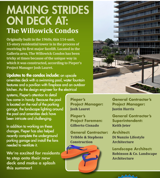 We're excited for residents to step onto their new deck and make a splash this summer!