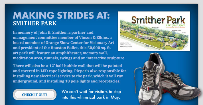 Making Strides at Smither Park