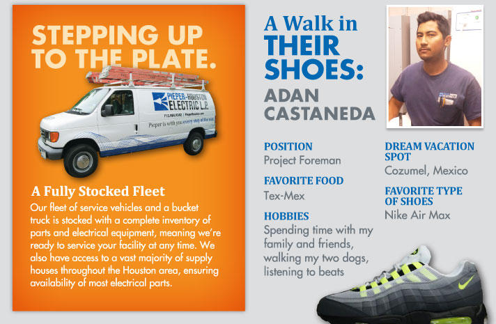 Stepping Up to the Plate.A Fully Stocked Fleet