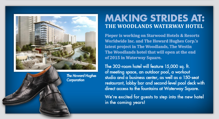Making Strides At: The Woodlands Waterway Hotel