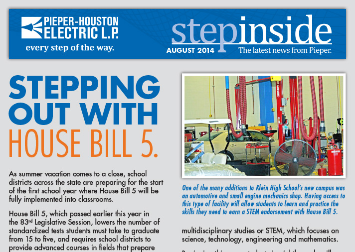 Step Inside August 2014