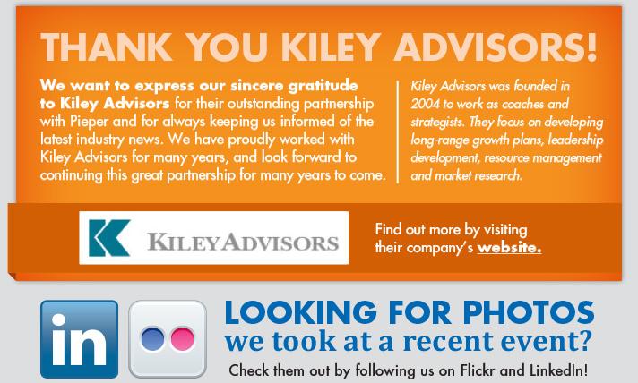 Thank You to Kiley Advisors