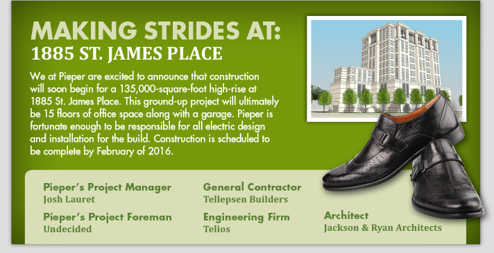 Making Strides at: 1885 St. James Place