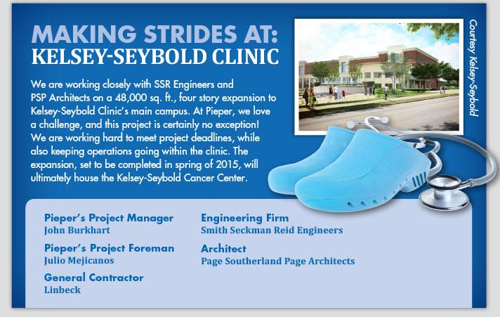 Making Strides At: Kelsey-Seybold Clinc