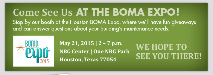 Come see us at the BOMA Expo!