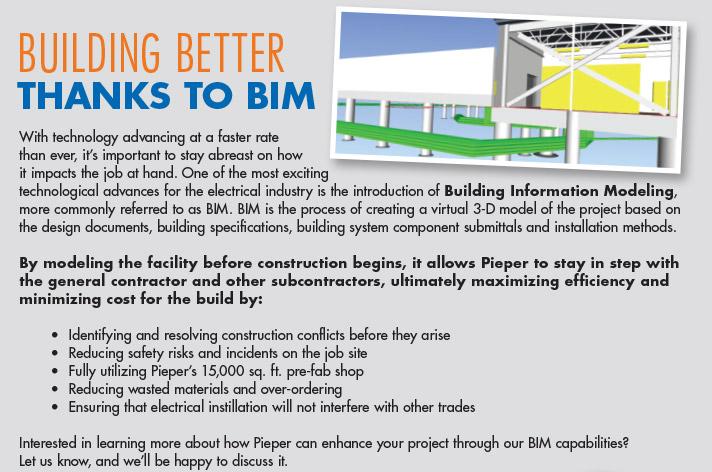 Building Better Thanks to BIM