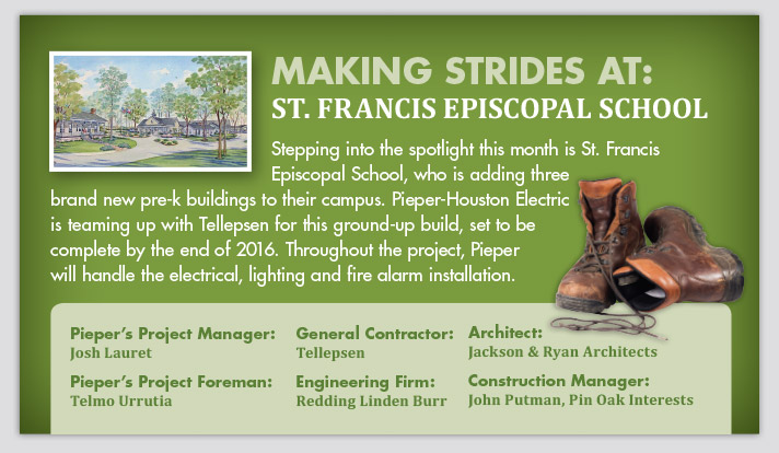 Making Strides at St. Francis Episcopal School