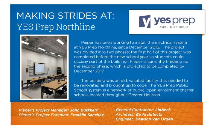 Making Strides at: YES Prep Northline